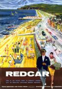 Redcar, Yorkshire. BR Vintage Travel Poster by Hugh Chevins. 1962